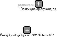 0531f930677 Český kynologický svaz ZKO Stříbro - 057 - náhled vizuálního zobrazení  vztahů obchodního rejstříku